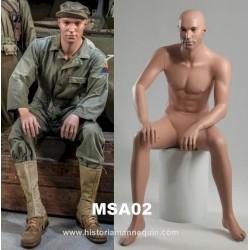 Historia Sitting Mannequin MSA 02