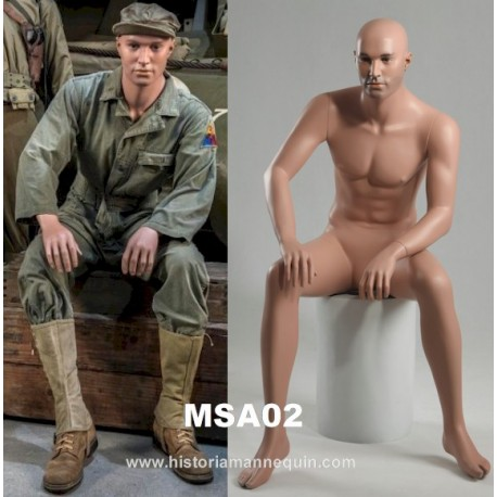 Historia Mannequin assis MSA 02