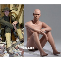 Historia Sitting Mannequin MSA 03