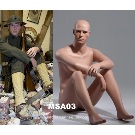 Historia Mannequin assis MSA 03