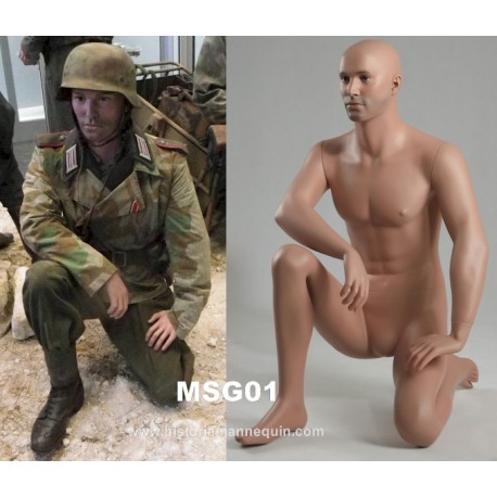Historia Mannequin à genoux MSG 01