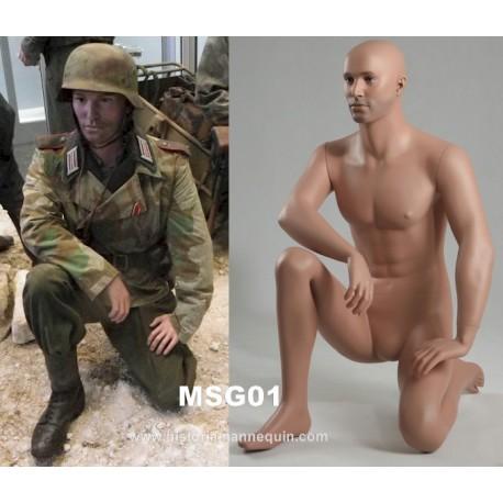 Historia Kneeling Mannequin MSG01