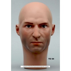 Male Mannequin Head TE04 - 54 cm