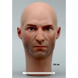 Tête de Mannequin Homme TE04 - 54 cm