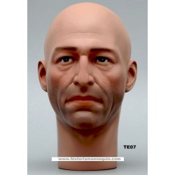 Male Mannequin Head TE07 - 54 cm