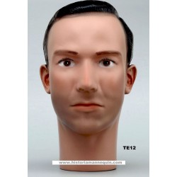 Male Mannequin Head TE12 - 56 cm