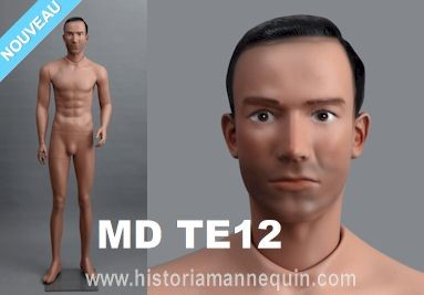 Historia Mannequin Homme MD TE12