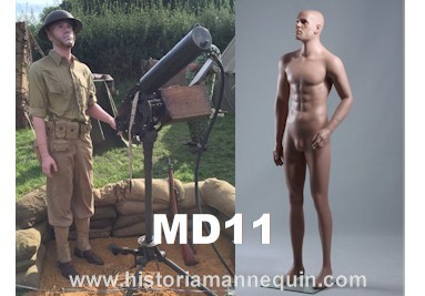 Historia Mannequin Homme MD11