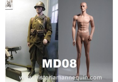Historia Mannequin Homme MD08