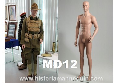 Historia Mannequin Homme MD12