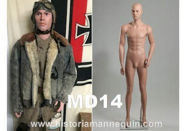 Historia Mannequin Homme MD14