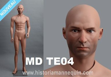 Historia Mannequin Musee Collection MDTE04
