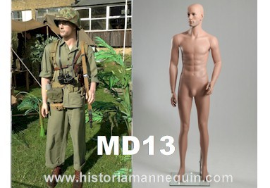 Historia Mannequin Homme MD13