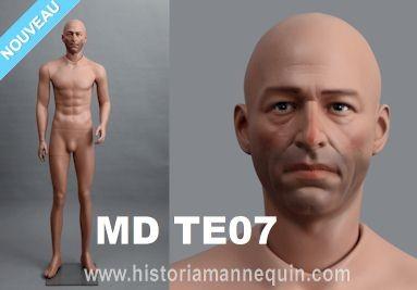 Historia Mannequin Male MD TE07