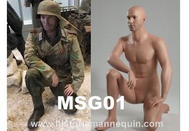 Historia Mannequin à genoux MSG01